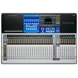 PRESONUS STUDIOLIVE 32 40-input digital console/recorder with motorized faders