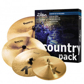 ZILDJIAN COUNTRY K PACK