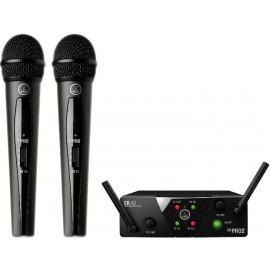AKG WMS40 Mini2 Vocal Set BD US25A/B