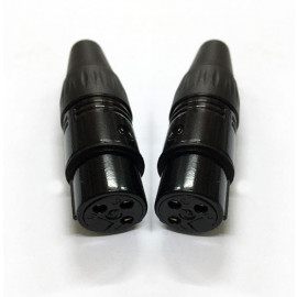 Nakamichi - Gold XLR (3 Pin) Female Cable Connector