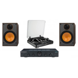 Audio-Technica AT-LP60 + Topaz AM5 + Monitor Audio Monitor 100