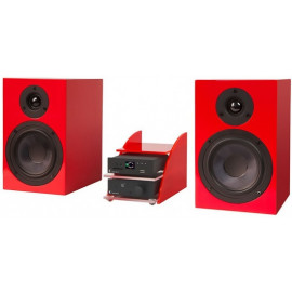 Pro-Ject Set HiFi Mediaplayer Silver-Red
