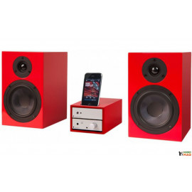 Pro-Ject Set iPod Goes HiFi Silver-Red