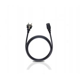OEHLBACH Powercord C13/300 black, 3 м