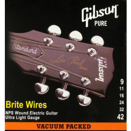 Gibson SEG-700UL BRITE WIRES NPS WOUND ELECT. .009-.042