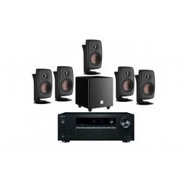 Акустика Dali Fazon 5.1-1 Black + AV-ресивер Onkyo TX-SR252 Black