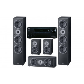 Домашний кинотеатр set 5.0 Onkyo TX-NR555 + Magnat Monitor Supreme 1002/102/center252