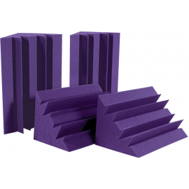 Auralex LENRD Bass Traps, 4 pieces, Purple