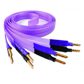 Nordost Purple flare,2x2,5m is terminated with low-mass Z plugs