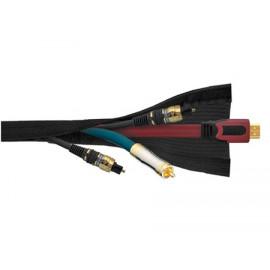 Real Cable Рукав для прокладки кабеля Black(CC88BL) 1M50
