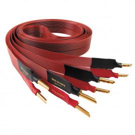 Разделка акустического кабеля (4 коннектора)
