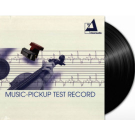 Clearaudio Music-Pickup Test Record (LP 43033,180 g.) Germany, Mint