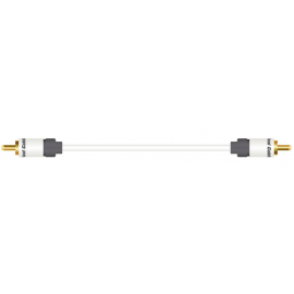 Real Cable SUB 1/2M (1 RCA - 1 RCA )