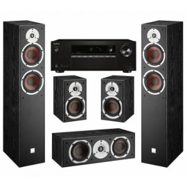 Dali Spektor set 5.0 Black /AV ресивер Onkyo TX-SR252