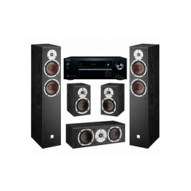 Dali Spektor set 5.0 Black /AV ресивер ONKYO TX-NR474
