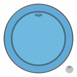 """REMO POWERSTROKE3 22"""" COLORTONE BLUE"""