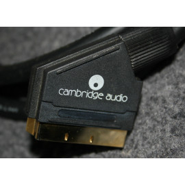 CAMBRIDGE AUDIO VID300 Scart Lead - 2M / 24K GOLD CONNECTORS