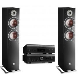 CD/SACD плеер Denon DCD-1600NE + Denon PMA-1600NE + DALI Oberon 7