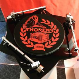Thorens Felt mat, 300mm, красно-черный