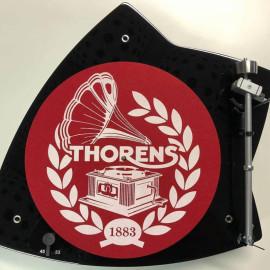 Thorens Felt mat, 300mm, красно-белый