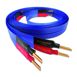 Nordost Blue Heaven,2x2,5m is terminated with low-mass Z plugs