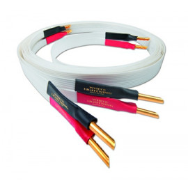 Nordost White lightning,2x2.5m is terminated with low-mass Z plugs