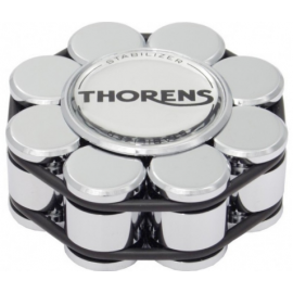 Thorens Stabilizer Chrome in Wooden Box