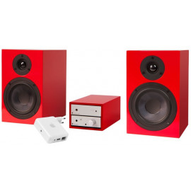 Pro-Ject Set HiFi AirPlay Silver-Red