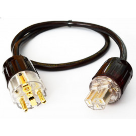 Real Cable - PSKAP ULTRA 24k Gold-Plated Pure Copper EU 1 М