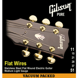 Gibson FLATWIRES STAINLESS STEEL FLATWOUND