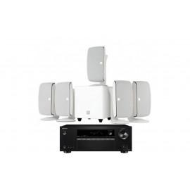 Onkyo TX-SR373 + Dali Fazon 5.1-1 White
