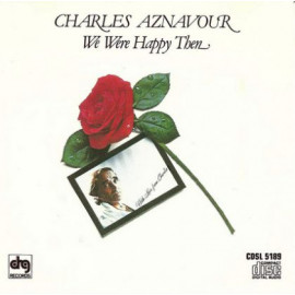 Charles Aznavour - We Were Happy Then 1979 USA NM/NM