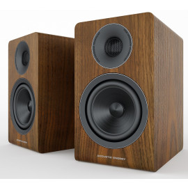 Acoustic Energy AE 300 Walnut wood veneer