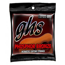 GHS STRINGS PHOSPHOR BRONZE 12-STR SET