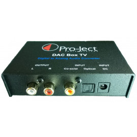 Pro-Ject DAC Box TV Black