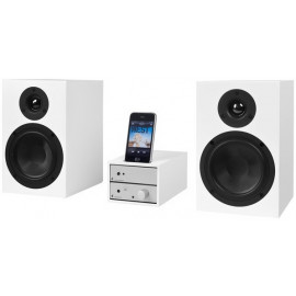 Pro-Ject Set iPod Goes HiFi Silver-White