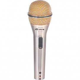 PEAVEY PVI2 GOLD XLR-JK MICROPHONE