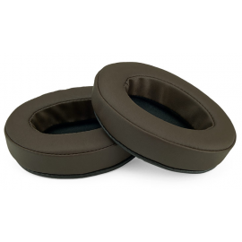 BRAINWAVZ OVAL PU Earpads BROWN