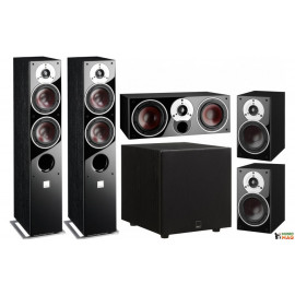 DALI Zensor 5 set5.1 5/1/vocal/Sub E9F Black