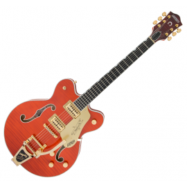 GRETSCH G6620TFM PLAYERS EDITION NASHVILLE ORANGE STAIN