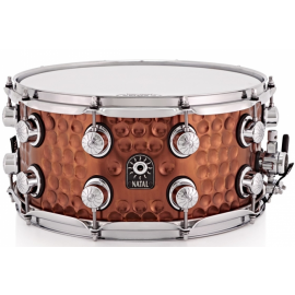 NATAL DRUMS HAND HAMMERED STEEL SNARE