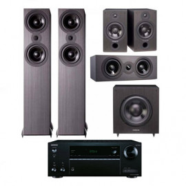 Кинотеатр ONKYO TX-NR474 + Cambridge Audio SX-5.1 System Black