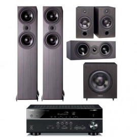 Домашний Кинотеатр Yamaha RX-V483 + Cambridge Audio SX-5.1 System Black