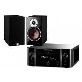 Dali Zensor 3 + Marantz M-CR611 Black Melody Stream
