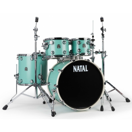 NATAL DRUMS CAFE RACER SEA FOAM GREEN