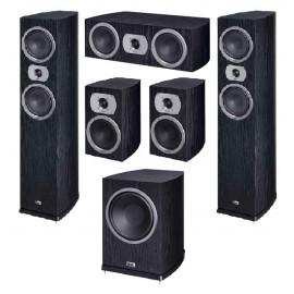 HECO Victa Prime 502 set 5.1 Black