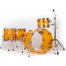 NATAL DRUMS ARCADIA ACRYLIC TRANSPARENT ORANGE