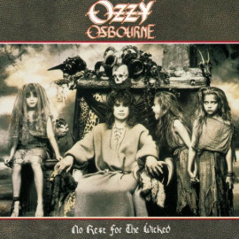 OZZY OSBOURNE - NO REST FOR THE WICKED - 1988 HOLL NM/NM