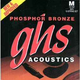 GHS STRINGS PHOSPHOR BRONZE SET