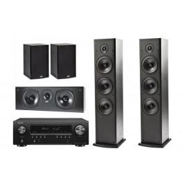 Denon AVR-S650H + Polk Audio - T Set 5.0